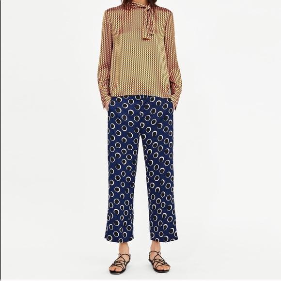 Zara Pants - Zara polka dot pants